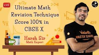 How to Score 100% in Maths Class 10 CBSE Board Exams | Math Revision Techniques | Tips and Tricks