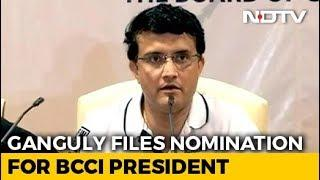 Sourav Ganguly To Be Next BCCI President