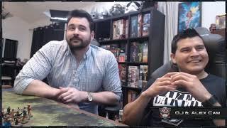 Angry Joe plays Shadow of Brimstone Board Game