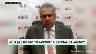 IL&FS' Hari Sankaran Outlines Decisions Taken At The Board Meeting