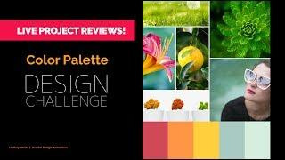 Live Review of Projects! ????❤️ The Color Palette and Mood Board Design Challenge!
