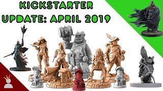 Kickstarter Update! April 2019
