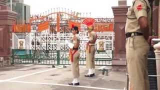 Wagah Border Retreat Ceremony