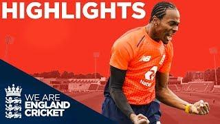 Archer & Morgan Shine For Hosts | England v Pakistan Only IT20 2019 - Highlights