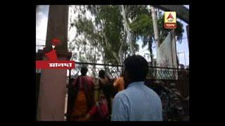 BJP-Police engaged into clash at Old Malda before Panchayat Board Formation