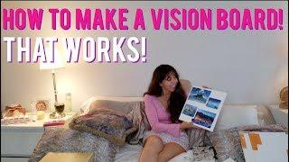 How to Make a Vision Board that Really WORKS! (part 1)