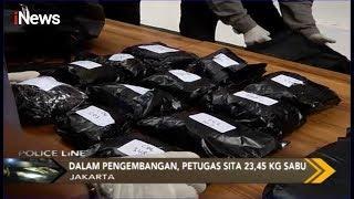 Pengedar Narkoba Batam-Jakarta Terbongkar, Polda Metro Jaya Sita 23,45 Kg Sabu - Police Line 01/11
