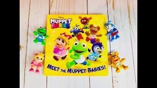 MEET THE MUPPET BABIES Board Book Read Along Toys Video!