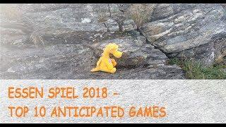 Essen Spiel 2018 - Top 10 Anticipated Games