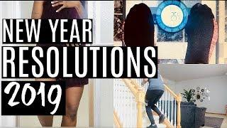 Health & Fitness New Year Resolutions 2019 | Health & Fitness Vision Board | Starting Weight 2019
