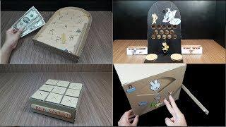 WOW! TOP 4 Amazing Board Games from Cardboard