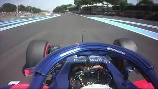 Pierre Gasly Goes Live From The Cockpit! | 2018 French Grand Prix