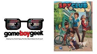 Spy Club Review with the Game Boy Geek
