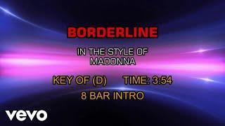 Madonna - Borderline (Karaoke)