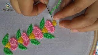 Amazing  Decorative Border Line Design   Hand Embroidery Border design.