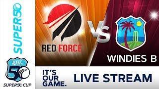 Super50 Cup - Full Match | Trinidad v Windies B  | Thursday 11 October 2018