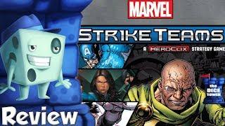 Marvel Strike Teams Review - with Tom Vasel