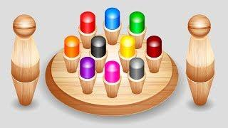 Learn Color for Kids Children with Rainbow Board Game | Nursery Rhymes Videos | Colours for Kids