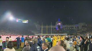 Rams Honor Woolsey Fire First Responders, Borderline Victims During Chiefs Game