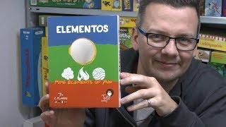 Elementos (Tyto Games / Board Game Circus) - abstraktes 2er ab 7 Jahre - inkl. gameplay mit Elias