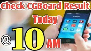 How to check CG Board result. CG Board result 2018 latest news. CG Board 10th and 12th class Result.