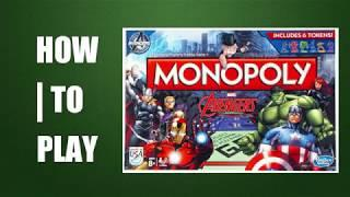 How to Play Monopoly Marvel Avengers Edition Board Game