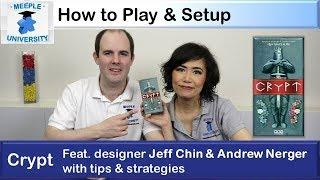 Crypt Board Game – How to Play & Setup, feat. designers Jeff Chin & Andrew Nerger