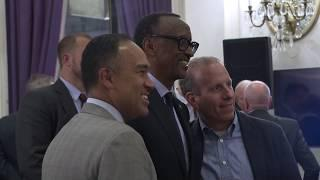 NBA Board of Governors Dinner | Q&A with President Kagame | New York, 11 April 2019 Short Video