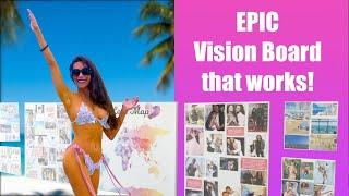 How to create a Vision Board that works   epic vision board   60 years young!