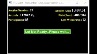 SPICES BOARD PUTTADY - E-AUCTION  LIVE CPMCS 11.03.2019