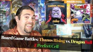 Board Game Battles - Dragon Ball Z Vs. Thanos Rising