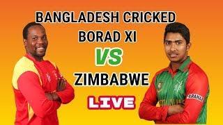 Bangladesh Cricket Board XI vs Zimbabwe, One-day practice match - Live