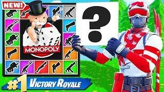 Fortnite MONOPOLY Board GAME MODE *NEW* In Fortnite Battle Royale