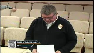Board of Public Works - January 22, 2019