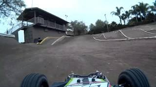 On-Board Video - Channel Islands R/C Tracks - Elings Park - Santa Barbara, CA - 1/8th Scale Track