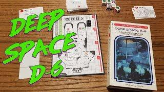 FTL Board Game? Checking out Deep Space D-6 - Easy Update