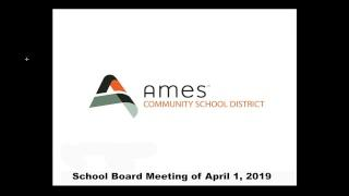 School Board Meeting of April 1, 2019 -Live Stream