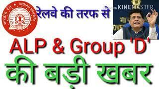 Railway Recruitment Board (RRB) ALP & Group 'D' Latest News