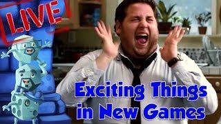 Top 10 Exciting Things in New Games