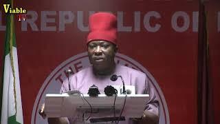 FULL VIDEO : Sen. Umeh Blows Hot Over Exclusion Of South-East/South In EFCC Board Members