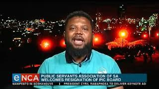 PSA welcomes PIC board resignation
