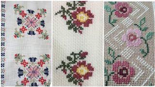 Beautiful Cross Stitch designs different ideas borderline Pettern