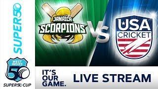 Super50 Cup - Full Match | Jamaica v USA | Monday 22 October 2018