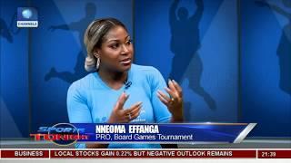 Discussing Board Games Tournament | Sports Tonight |