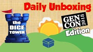 Daily Game Unboxing - Forbidden Sky