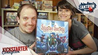 Stygian Society Board Game Preview