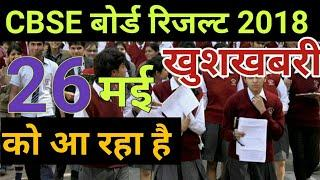 CBSE Board Result 2018 Declared on 26th May,CBSE Board Class 12th Result Date Announcement 2018,
