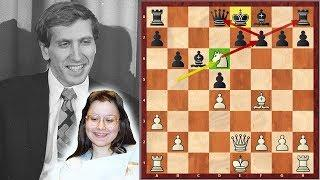 She Was Bobby Fischer's Girlfriend And This Is Her Game