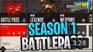 SEASON 1 BATTLE PASS HYPE!!(NOT RELEASED) (apex legends) #1 CONSOLE PLAYER!! LEADER BOARD GRINDING!!