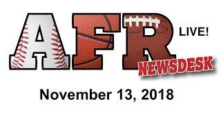 AFR Sports Board Game News for November 13, 2018